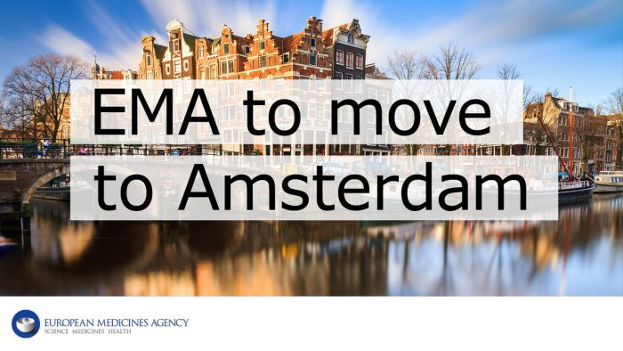 EMA is coming to Amsterdam!